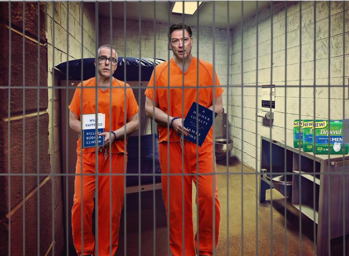 McCabe & Comey in Jail